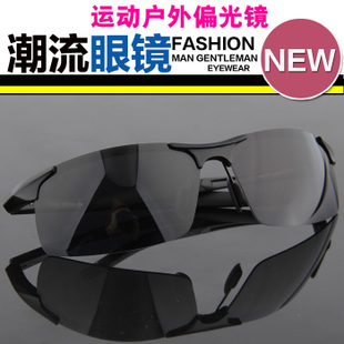 Male authentic outdoor sunglasses polarizer glasses aluminum magnesium sunglasses driver mirror men s UV glare