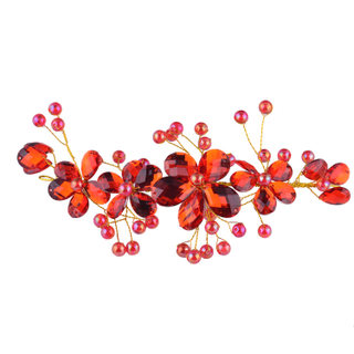 Nice pretty flowers gorgeous bride and Yat hair styling hair ornaments free style tiara wedding accessories wedding bride ornament