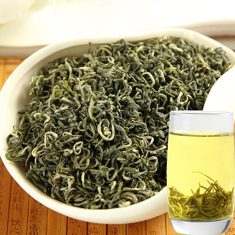 2021年新茶贵州茶叶 石阡苔茶 高山炒青绿茶春茶散装茶叶250克