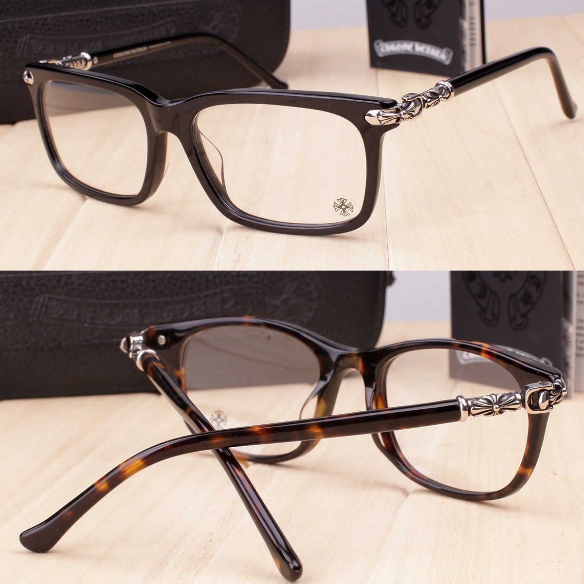 Chrome Hearts glasses CORNHAULASS-A super wide fashion personality ...