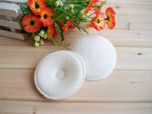 New high quality washable breast pad pure cotton towel thickened breast pad anti overflow breast pad anti leakage super suction 2 pieces