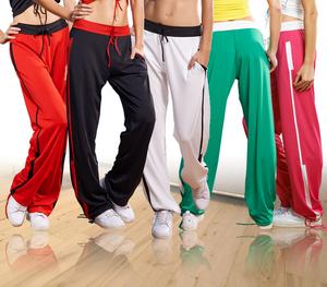 路伊梵女跳舞健身裤健美操舞蹈裤