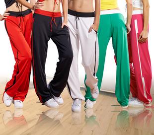 路伊梵舞蹈裤女运动裤练功裤跳舞健身裤健美操下装广场舞服装显廋