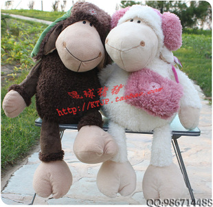 Lei Feng sheep plush toy doll couple doll Dolly doll girlfriend birthday gift