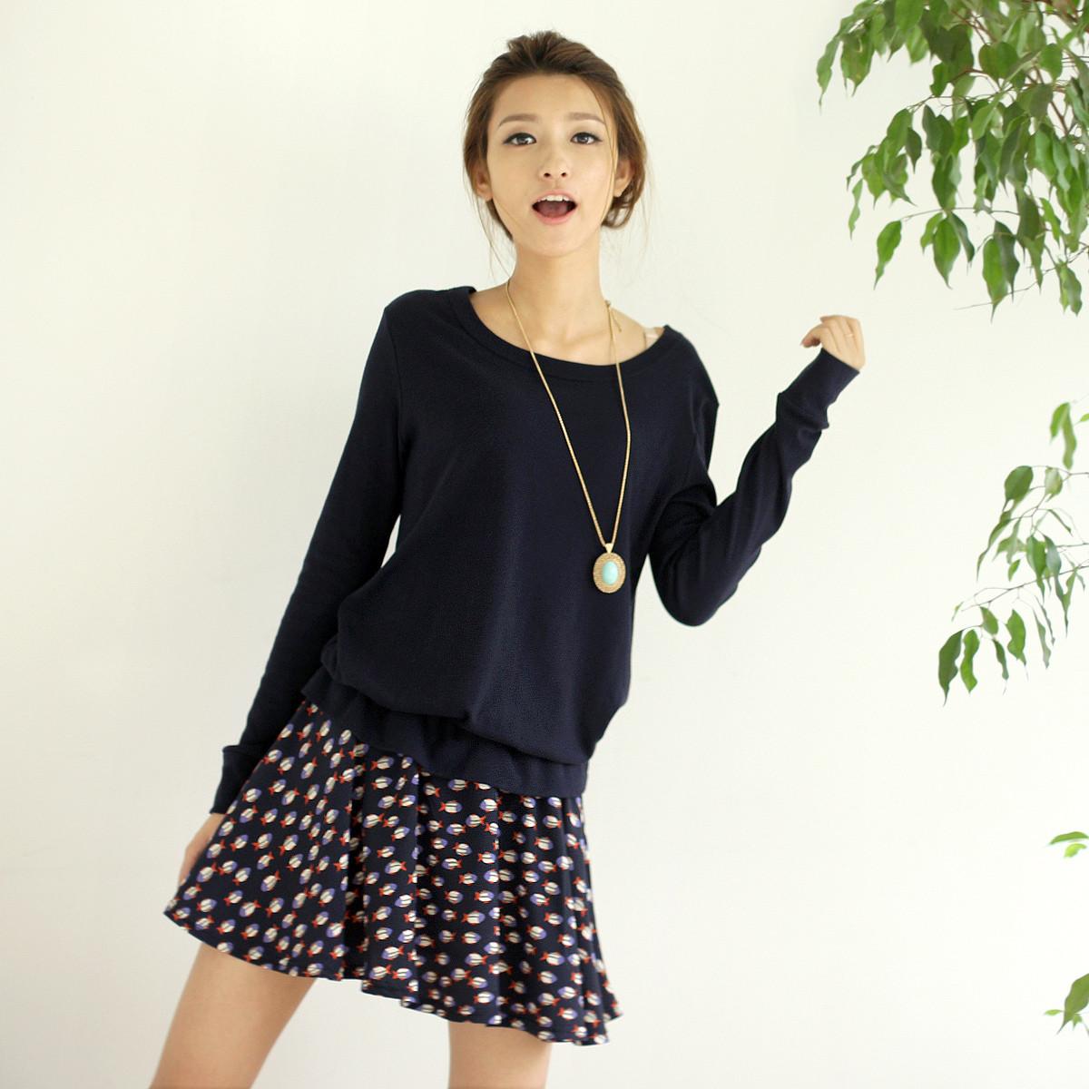 [转卖]2012秋装新品秋款连衣裙裙子有大码 女装时尚韩…