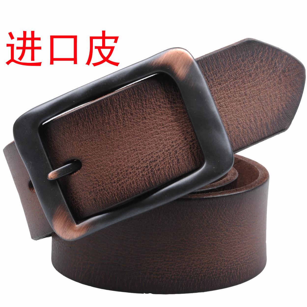 Широкий кожаный ремень Ремни мужские ремни корейской версии чистой натуральной замши кожи пояса кожаные мужские ремни ремни мужские