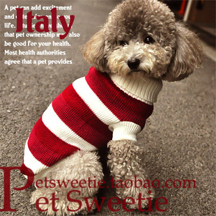 3 dog winter clothing VIP Bichon small deer pet Chihuahua dog sweater Teddy fall and winter