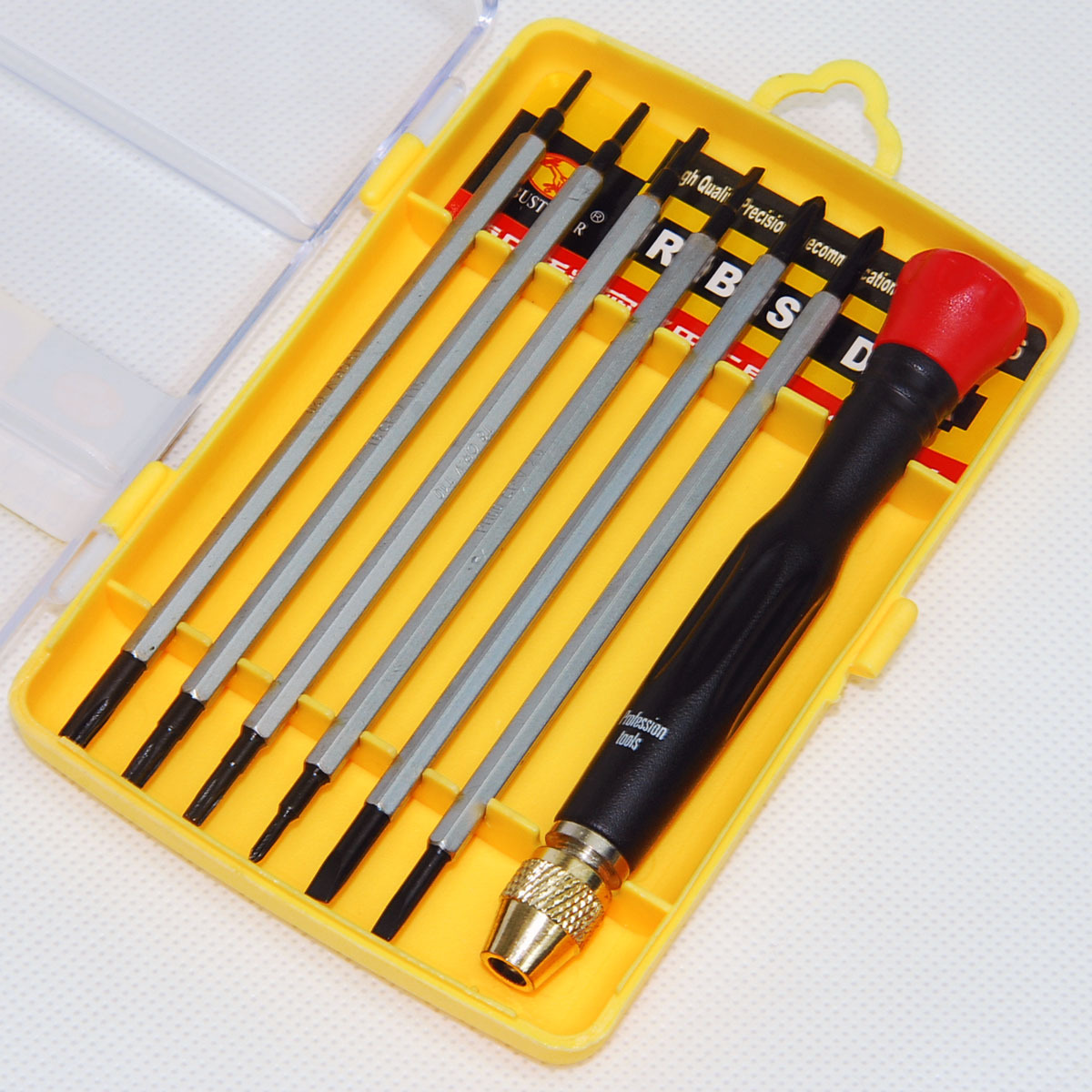 飞鹿 No.9126 螺丝刀套装 修理硬盘、手机、笔记本组合螺丝批