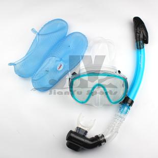 全干式潜水三件套/潜水镜呼吸管套装 浮潜装备 浮潜三宝特价