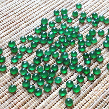 Jade wholesale Jade at the crater of the old fluorescent ring surface natural jadeite jade Mosaic full color small egg noodle joker