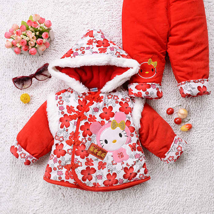 2957715a5 Costume female baby winter coat winter baby Girls 3-6-12 months a ...