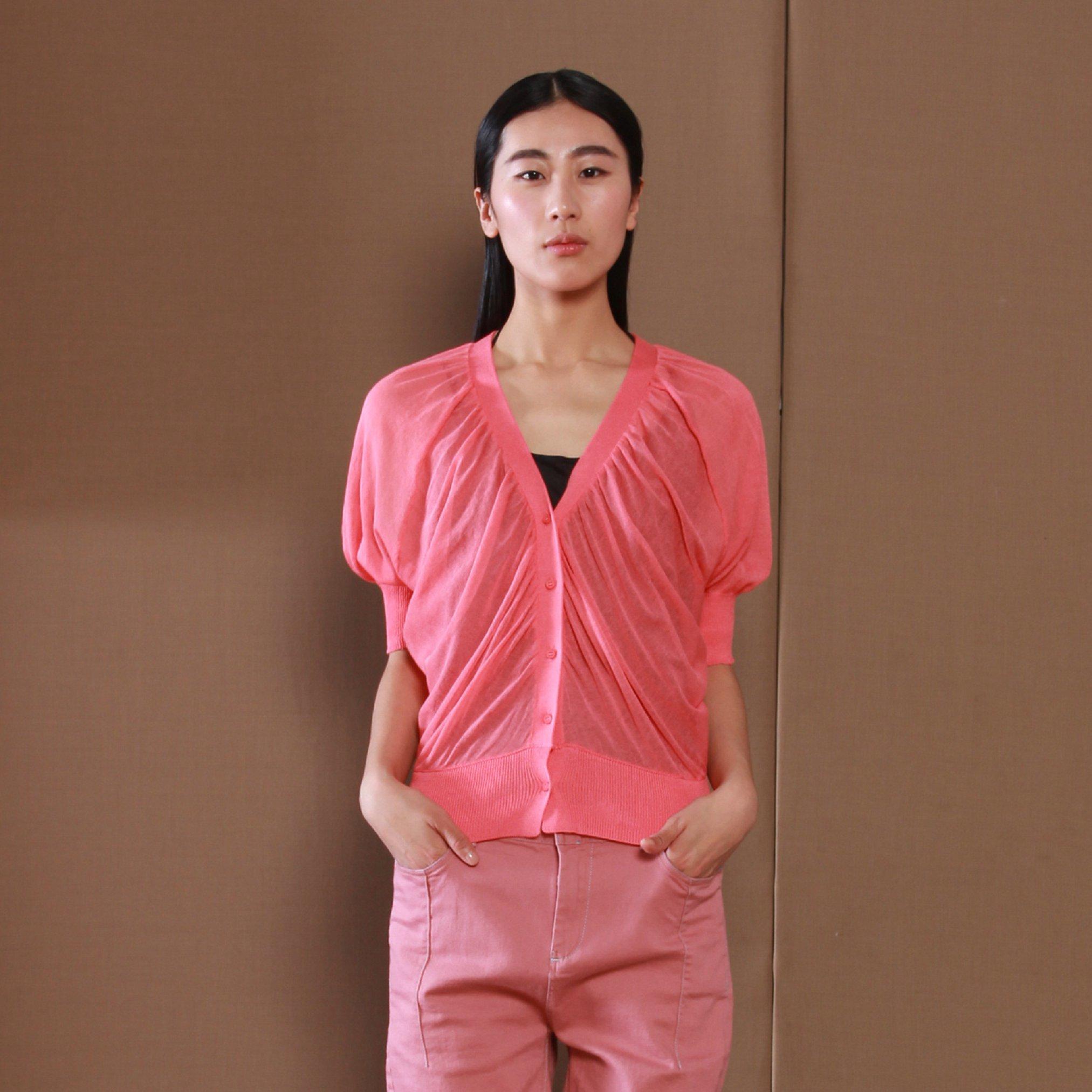JNBY jnby тонкое летнее платье новые дамы свитер слабее bat рукав 5 c 38015