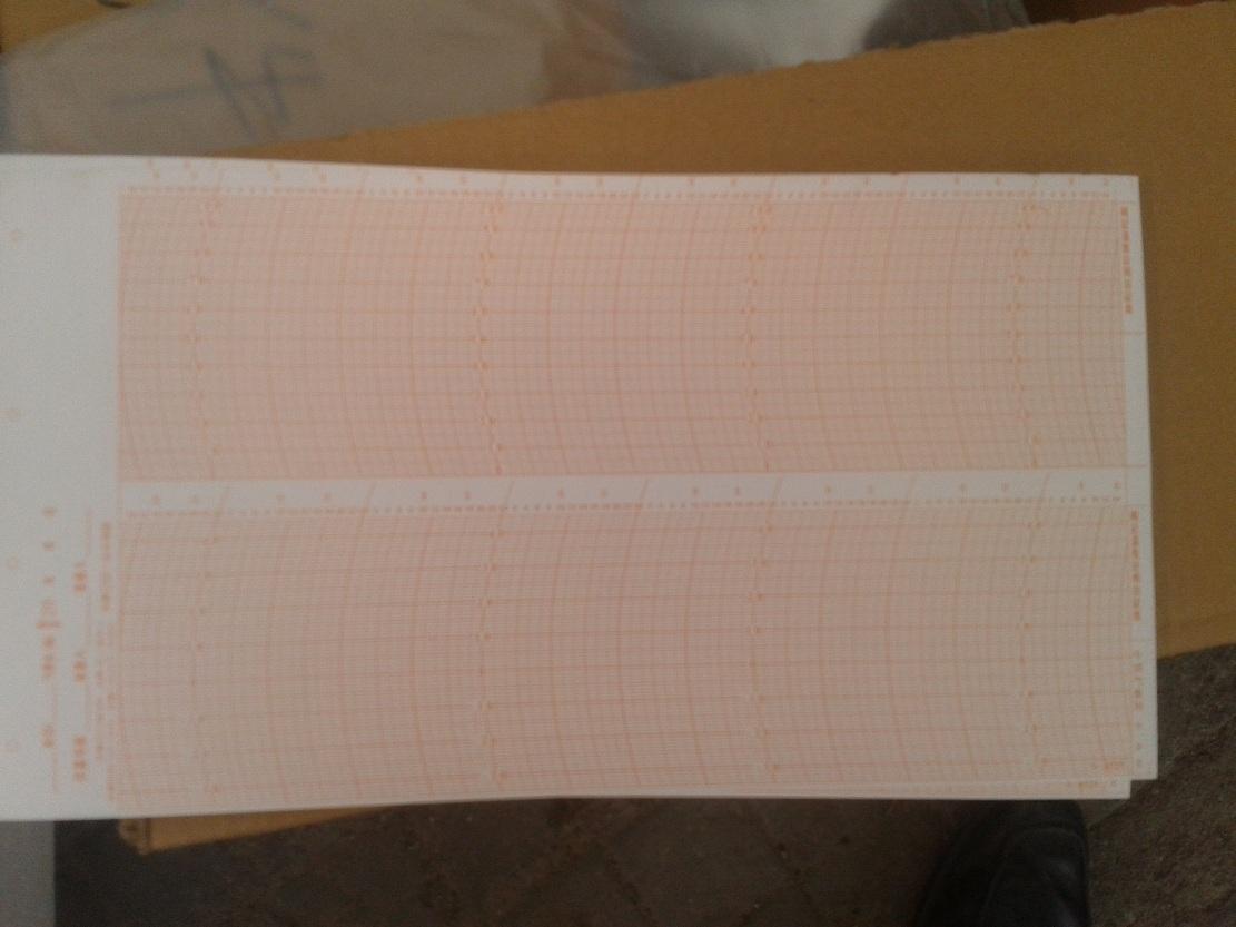 包邮上气ZJ1-2B 2A温湿度计记录纸周记用自记纸8525日记8511