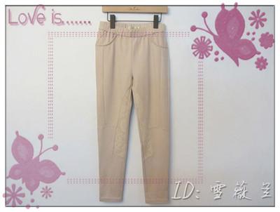 朝峰专柜正品    高雅气质蕾丝拼接女装小脚裤  517D 正品专卖