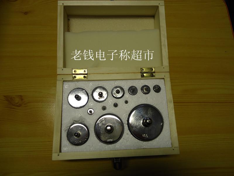 盒装2kg标准砝码 电子称砝码 实验室砝码 天平砝码 电子秤砝码