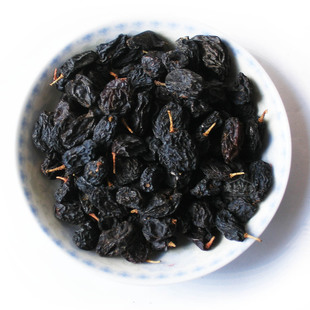 2014 new goods Xinjiang specialty grade black currant raisins black raisins raisins 500 g