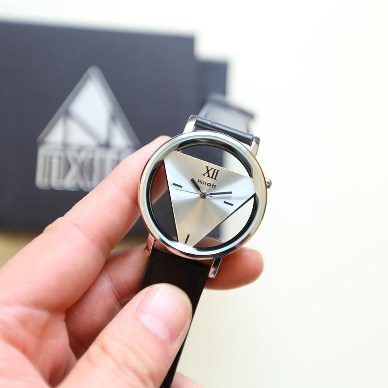 2015 году новый контракт мода пу пояс черный ремешок смотреть мужской пары Смотреть мужской tide часы