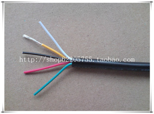 UL2464 26AWG 5C 5 multi core PVC sheathed cable wire cable electronic line 200 m roll