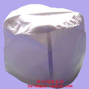 Dr Bai Se physician cap hat white dome cap nurse cap doctors working clothes flat polyester fabric polyester card