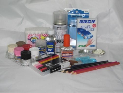 三八妇女节促销 BJD娃娃喷笔化妆套装 专业级SD化妆用具 9件套