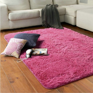 Continental thick plush carpet silk slip pad bedroom bed living room sofa table mats paved stairs