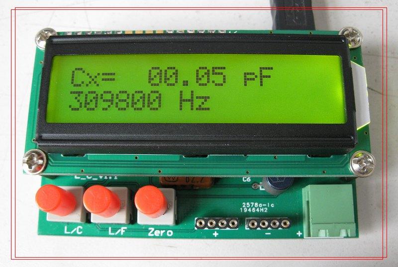 (Нет в наличии, не стреляйте) лист емкость измеритель LC метровой точности индуктивности индуктивности измерителя