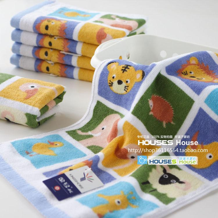 Дети полотенце первый подлинный золото, childlike мультфильм Бао g ткани, хлопок велюр Детские полотенца