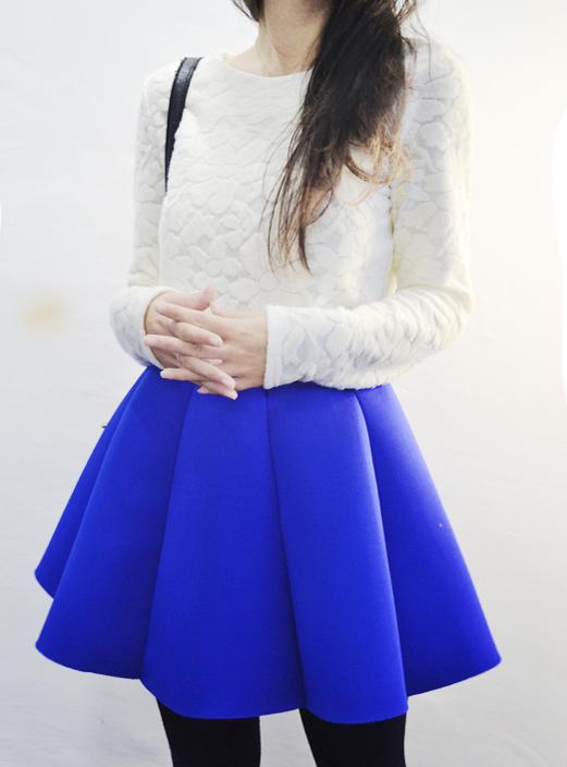 蜻蜓家2018秋季新款韩版版型超好超挺伞裙百褶造型半身裙