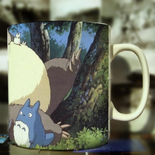 Totoro Totoro mug coffee mug customizable name lover cup double 11 explosion models