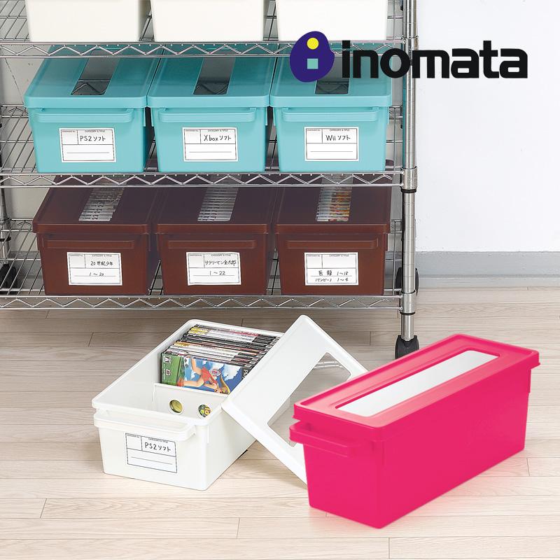 Япония импортировала INOMATA окно CD органайзер Дисковод DVD-диска органайзер Дисковая коробка