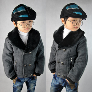 The new children s clothing boys fall and winter clothes for children too short coat thicker coat 3 4 5 6 7 8 9 10 years