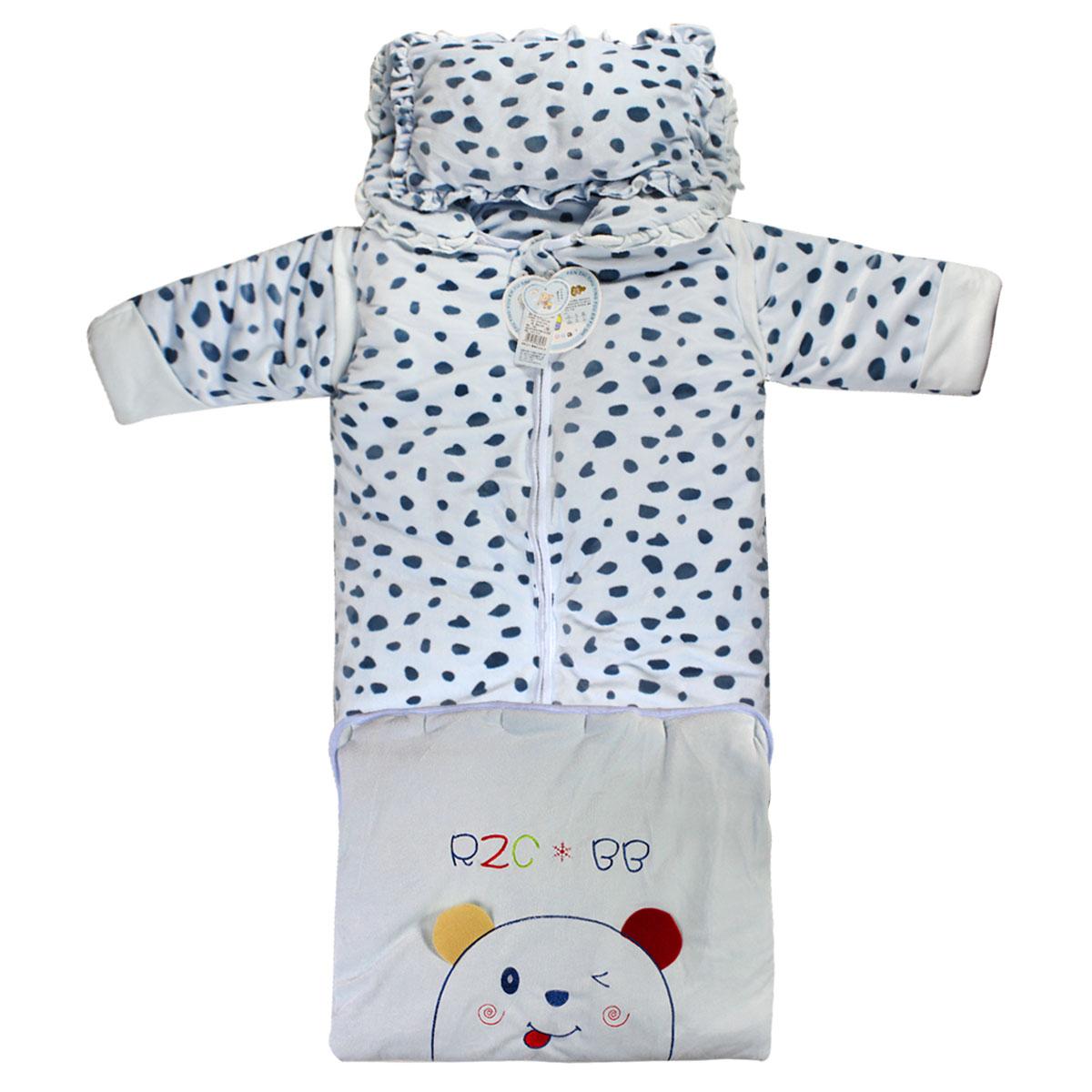 Аутентичные люди хлопок бархат новорожденного ребенка спальные мешки в начале весны и осени пакет держать одеяло длиннее утолщенной