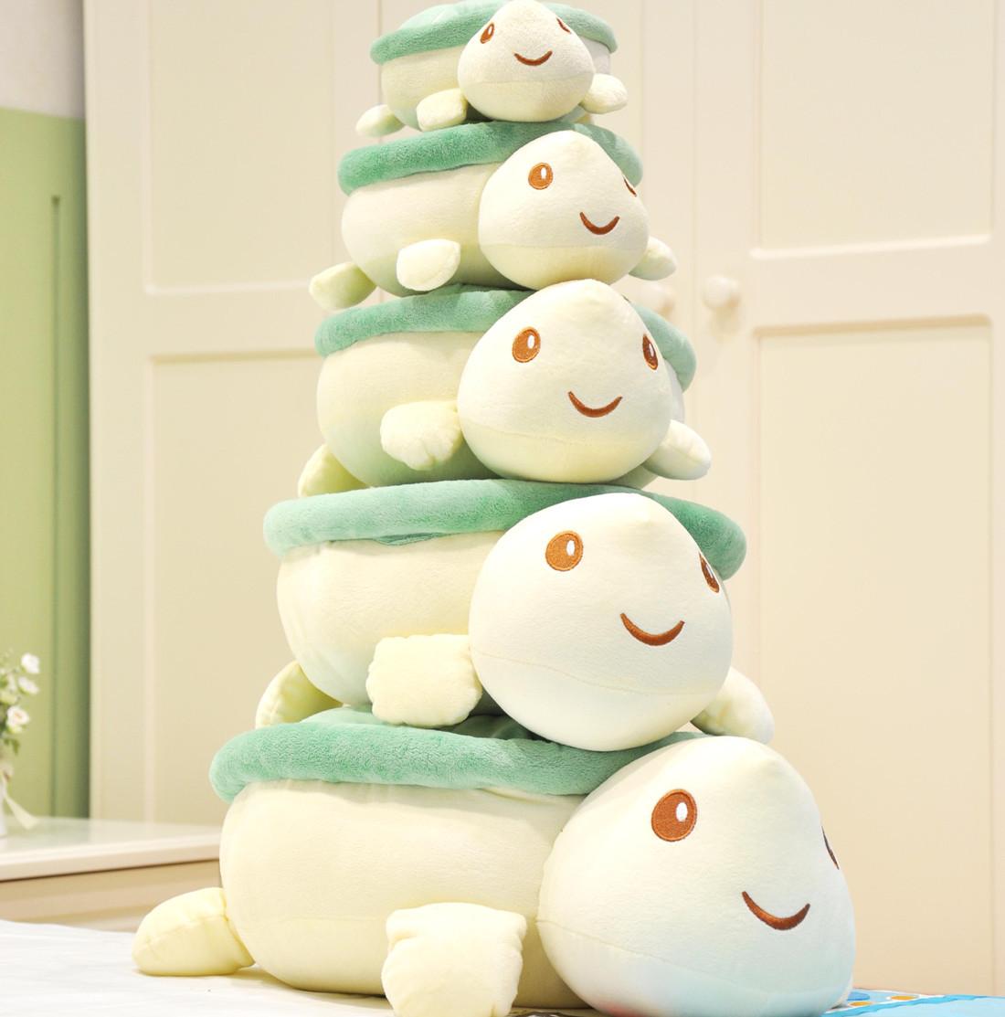 可爱乌龟毛绒玩具抱枕公仔午睡枕头公司结婚活动小礼品抛洒玩偶定