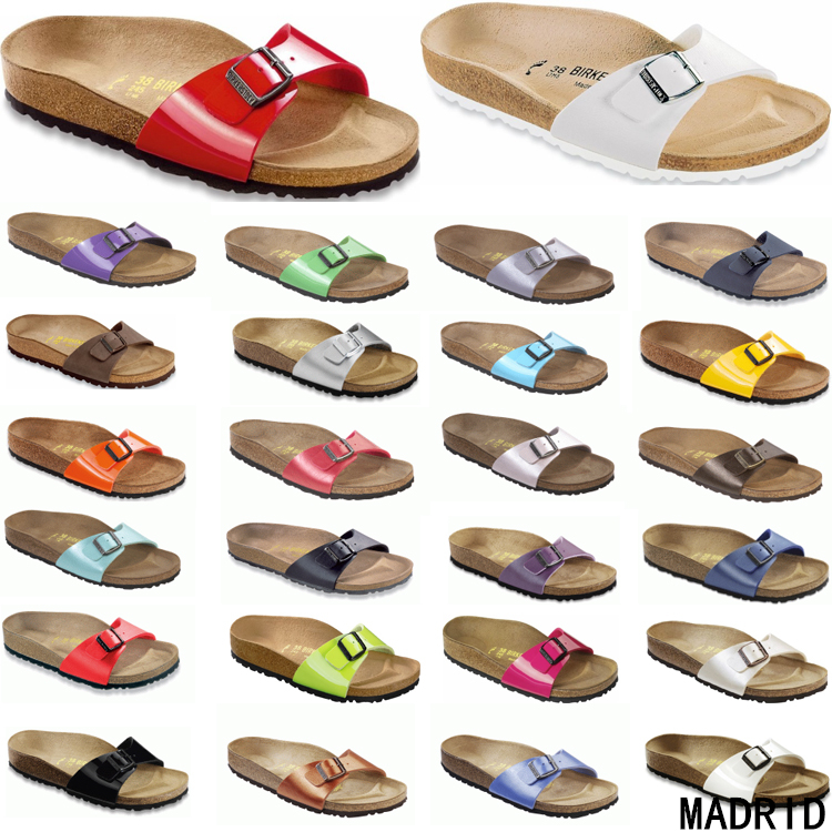 wholesale dealer c3c32 0e667 Hong Kong stock purchase of quality Birkenstock Germany shoes Birkenstock  Madrid women single-buckle slippers
