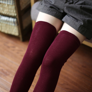 Students stockings long socks knee socks tide female half leg was thin black socks Japanese socks stockings Gaotong