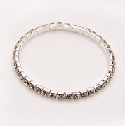 Smiling Korea new rhinestone ring Crystal rhinestone bracelet hand chain Korean jewelry women