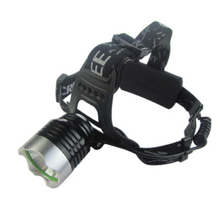 t6 authentic white yellow lamp charging T6 headlight glare rechargeable waterproof fishing headlights light night ride