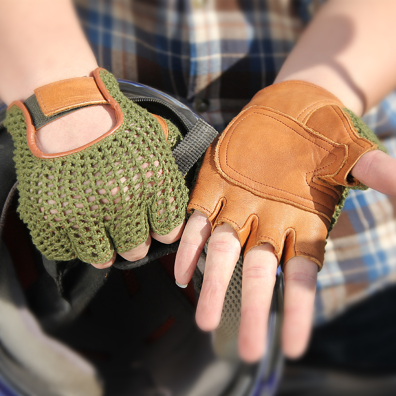 Мужские перчатки без пальцев Артикул 37854182728