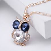Nice jewelry Korean version of the vintage, nice ball OWL sweater chain long necklace Korea in autumn and winter accessories