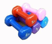Priced direct selling high-end exquisite color plastic dumbbell overall shape body exercise special preferred to lose weight