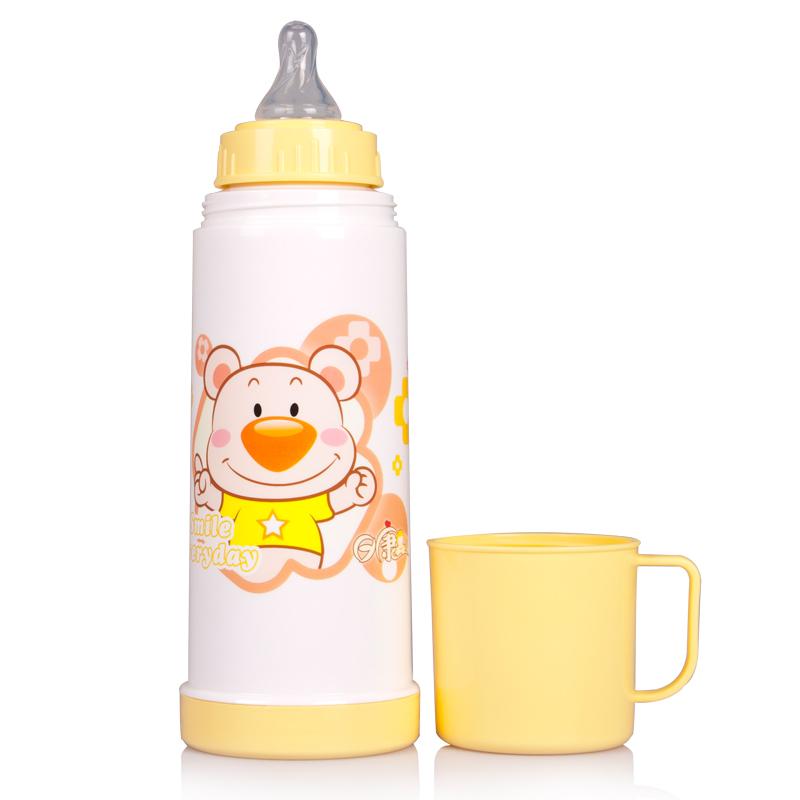 День мир ребенок термос кружка теплый чайник RK-3043/3044 ребенок сохранение тепла бутылочка для кормления двойной стекло вкладыш