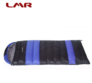 Genuine goose LMR envelope sleeping bag outdoor ultralight goose down sleeping bag 800 克 comfort -5 degrees