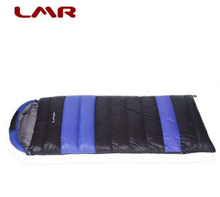 Genuine LMR envelope sleeping bag outdoor equipment 700 g 90 duck down 5 0 of comfort