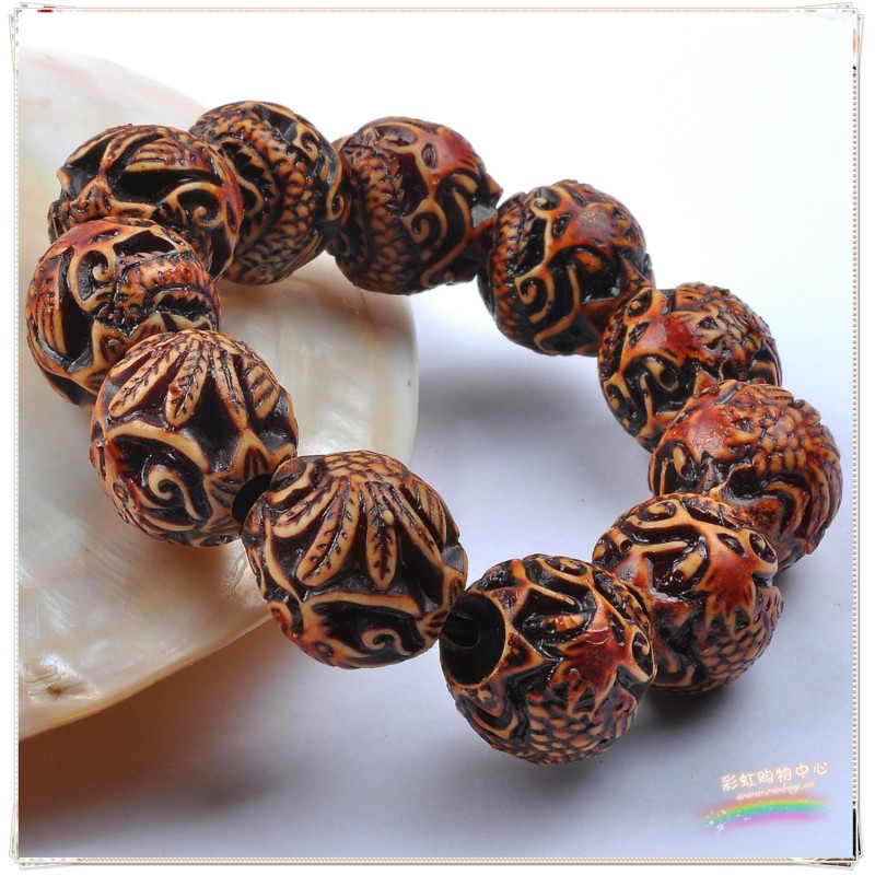 Personality fashion fashion resin Dragon Phoenix Bracelet / Bracelet Elastic Bracelet for men and women wholesale