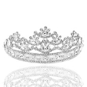 Shi Huanqi H146 high-end Flash drilling Crown bridal tiaras wedding dress accessory model contest