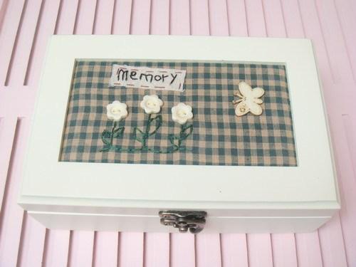 Зазор континентальный ткань шкатулка в коробку творческий подарок домой домой украшения ремесла качели установить