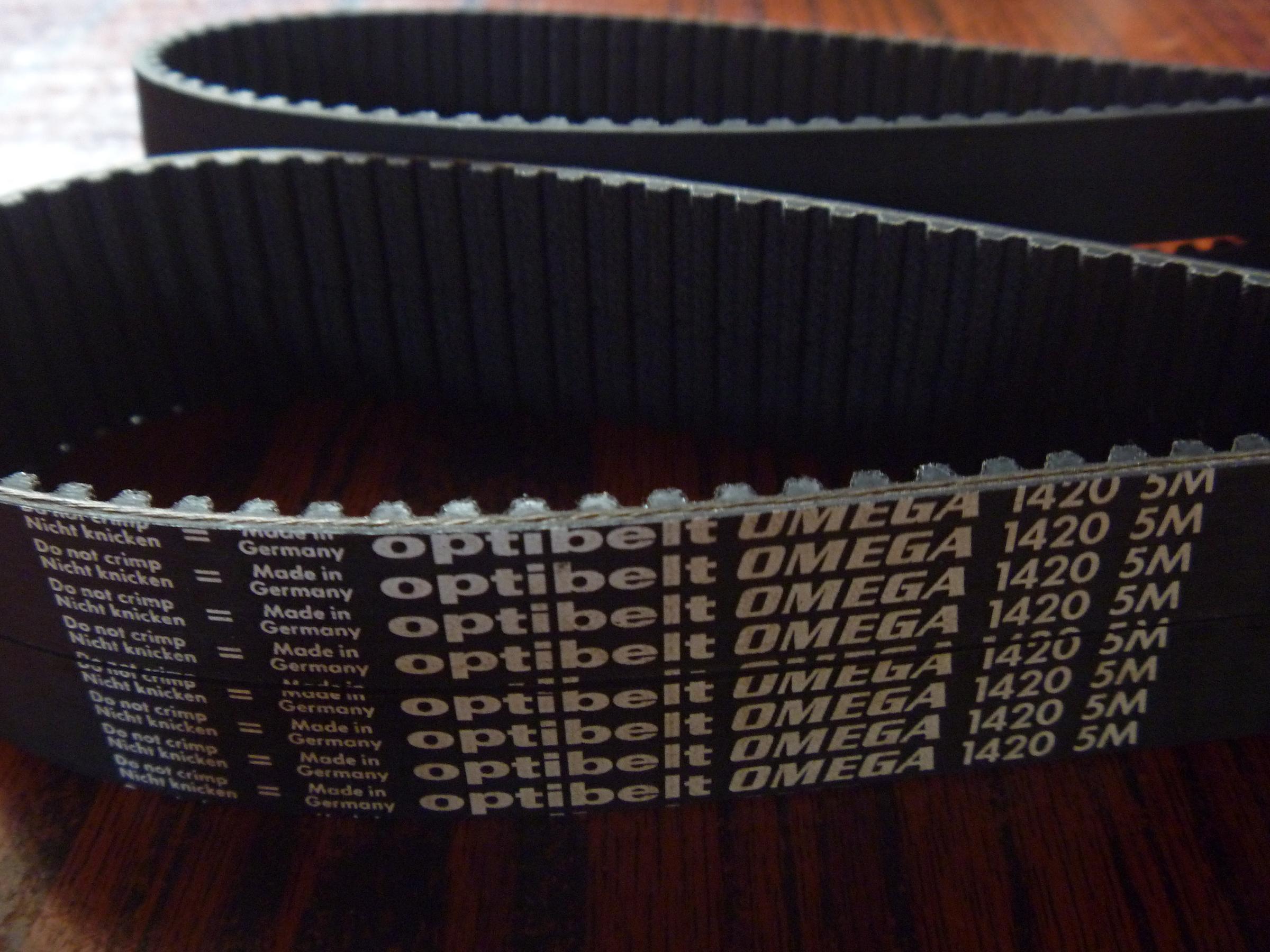 同步带,德国欧比特optibelt同步带5M-1420  每10毫米的价格