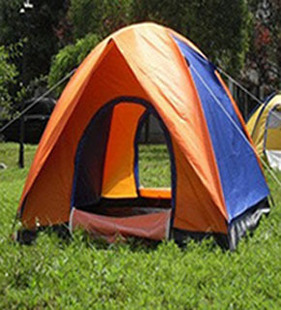 3 4 people camping outdoor tent camping double double door tent people