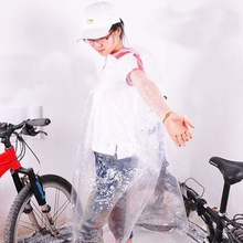 INBIKE convenient type of disposable outdoor transparent poncho cycling raincoat cycling equipment