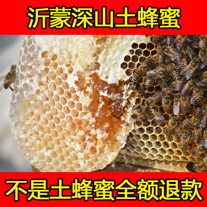 nest and wild honey honey pure natural nutritional supplement traditional Baihua bee products into the mountains natural farming